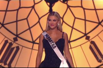 A fost desemnată noua Miss SUA. Tânăra este originară din Nebraska