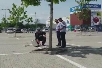 Ce au găsit pirotehniștii în valiza suspectă, găsită în parcarea unui magazin din Pitești