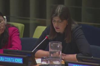 Kovesi, la ONU: Cea mai mare provocare în România este păstrarea independenţei magistraților