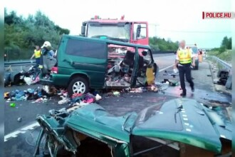 MAE: Trupurile celor 9 români morţi în accidentul rutier în Ungaria, repatriate sâmbătă