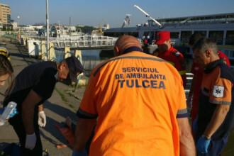 Un pescar a murit, după ce s-a răsturnat cu barca în apropierea falezei din Tulcea