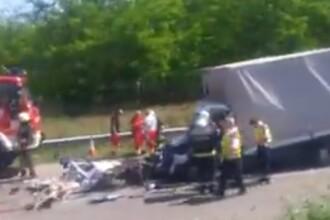 Un român a murit într-un nou accident pe autostrada M5, în Ungaria. VIDEO