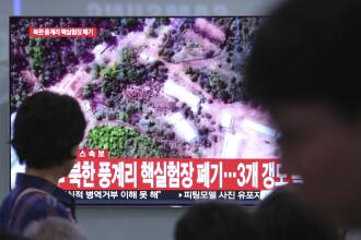 Coreea de Nord a început demolarea complexului nuclear de la Punggye-ri