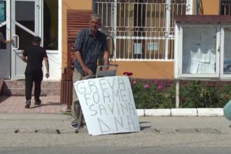 Un bărbat din Gorj a intrat în greva foamei de câteva zile din cauza unor probleme cu Primăria