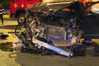 Accident în Capitală, din cauza unui șofer care ar fi trecut pe culoarea roșie a semaforului