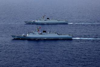 """Nave americane de război, în Marea Chinei de Sud. Protest al Beijingului: """"SUA să înceteze imediat"""""""