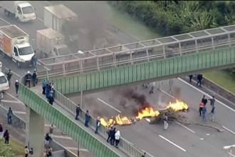 Decizia luată de preşedintele Braziliei pentru a pune capăt grevei şoferilor de TIR. Armata a intervenit