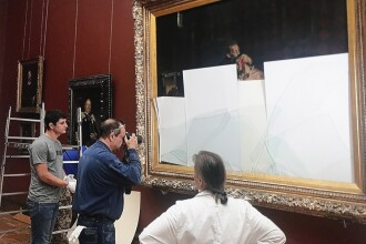Tablou celebru din Rusia, distrus de un vizitator care s-a îmbătat la cafeneaua muzeului