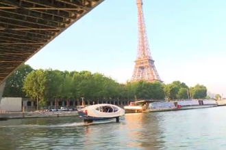 Un serviciu de taximetrie acvatică ar putea fi introdus la Paris, anul viitor