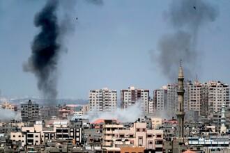 Israelul contraatacă. Fâșia Gaza a fost bombardată de avioanele israeliene