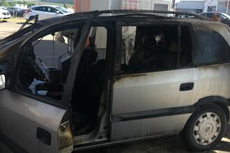 Un şofer şi-ar fi dat foc singur în maşina sa, într-o benzinărie din Cluj