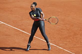 """Serena Williams, ținută neobișnuită în primul meci de la Roland Garros: """"Ca o prinţesă războinică"""""""