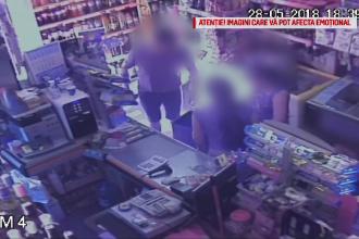 O vânzătoare din Arad, lovită cu pumnul în față de un client