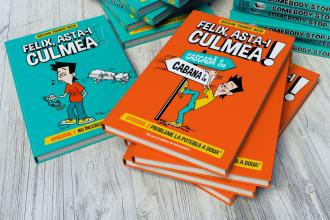 """Bookfest 2018. De 1 iunie se lansează cel de-al doilea volum al cărții """"Felix, asta-i culmea!"""""""