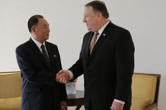 Ce a discutat şeful diplomaţiei americane cu omul de încredere al lui Kim Jong-Un
