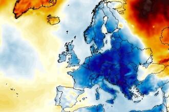 România, lovită de un val de aer polar în următoarele zile. Cât de frig va fi