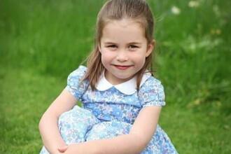 Prinţesa Charlotte, fiica prinţului William şi a ducesei Kate, a împlinit 4 ani