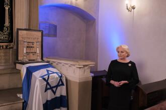 Viorica Dăncilă, la Auschwitz. Premierul a participat la Marşul Vieţii. VIDEO