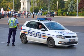 Doi șefi din Poliție, prinși sub influența alcoolului la volan, în decurs de câteva ore