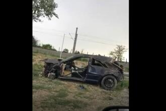 Șofer mort într-un accident cumplit în Tunari. Ce ar fi făcut în momentul impactului