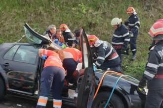Accident grav, cu o mașină de Bugaria, lângă București. O femeie a murit