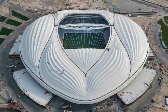Stadionul în formă de vagin este aproape gata. Qatarul a prezentat noi imagini cu el