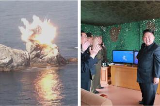 Lansările de rachete nord-coreene, supervizate de Kim. Trump nu crede că are intenţii rele