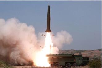 Coreea de Nord a lansat două tiruri de rachete cu rază scurtă de acțiune