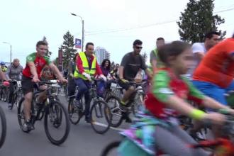 Marş al bicicliştilor, în Timişoara. Ce au cerut autorităţilor locale