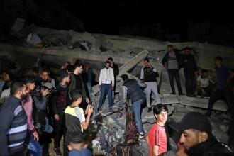 Peste 400 de rachete, lansate din Fâșia Gaza spre Israel. Bilanțul victimelor