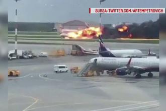 Posibila cauză a accidentului aviatic din Rusia, în care au murit 41 de oameni