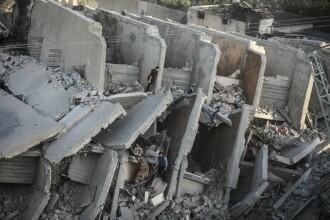 Cum arată Fâșia Gaza după ce a fost bombardată de Israel. Imagini cutremurătoare