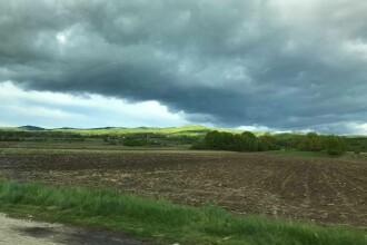 Vreme instabilă, cu ploi zgomotoase și posibil grindină, în sudul țării. Prognoza meteo