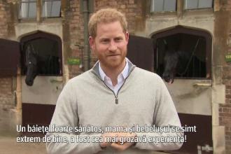 """Mărturiile Prințului Harry, devenit părinte: """"S-a născut la câteva zile după termen"""""""