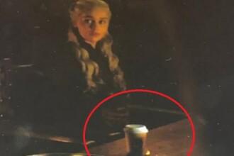 Reacția HBO după ce într-o scenă din Game of Thrones a apărut un pahar de cafea