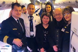TAROM i-a oferit lui Mihai Șora un abonament viager după sesizarea făcută de filosof