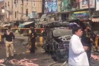 Explozie în apropierea unui templu din Pakistan. Mai multe persoane au murit. VIDEO