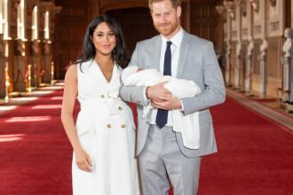 Primele imagini cu fiul lui Harry și Meghan. Cum arată bebelușul regal. GALERIE FOTO