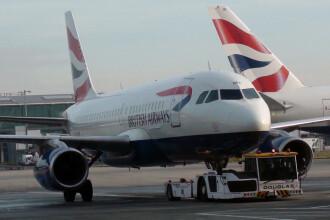 Avionul delegației britanice, implicat într-un incident când venea la summitul de la Sibiu