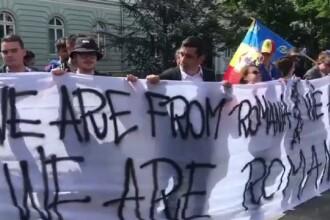 Summitul de Sibiu, marcat de trei proteste diferite. Au intervenit jandarmii. FOTO