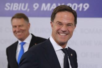 Premierul Olandei, despre aderare la Schengen: