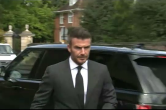 Cum a rămas David Beckham fără permis din cauza unui fan