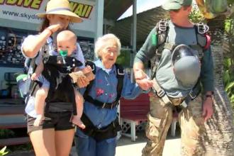 Modul inedit în care își petrece ziua de naștere o bunicuță de 91 de ani