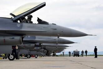 SUA au trimis 10 avioane de luptă într-o misiune în România. Care e motivul