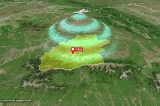 Misiune dificilă. Câte avioane cu statut special au aterizat în 2 ore în Sibiu