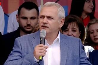 Miting PSD la Galați. Dragnea, despre Iohannis: Asta e soarta slugilor