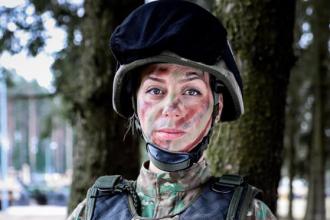 """Mesajul emoționant al unei tinere militar pentru tatăl ei, de Ziua Tatălui: """"Nu sunt o prințesă"""""""