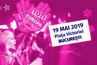 """Manifestații """"civice"""" organizate pe 19 mai, """"pentru a încuraja tinerii să iasă la vot"""""""