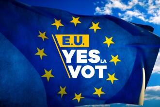"Europa FM sustine campania ProTV ""E.U. YES LA VOT"""