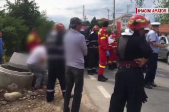 Un microbuz cu pasageri s-a răsturnat în Constanța. Bilanțul victimelor